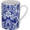 Three Star Im/Ex Inc. 4 Piece Floral Coffee Mugs Set
