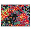 ZUZUNAGA Bitmap Digital Silk/Wool Blanket
