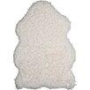 Andiamo Handgetufteter Teppich Plushy in Weiß