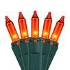 """Kringle Traditions 50 Mini Lights 6"""" Lead"""