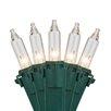 """Kringle Traditions 100 Mini Lights 4"""" Lead"""