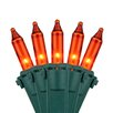 "Kringle Traditions 50 Mini Lights 4"" Lead"