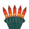 """Kringle Traditions 100 Mini Lights 6"""" Lead"""
