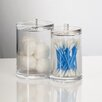 U.S. Acrylic LLC Cotton Ball and Swab Holder Set