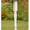 Plow & Hearth Wood Pedestal Birdhouse Pole