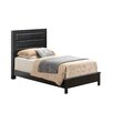 Glory Furniture Aries Upholstered Panel Bed
