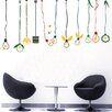 Pop Decors Lovely Light Bulbs Wall Decal