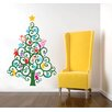 Pop Decors Happy Christmas Tree Wall Decal