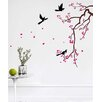 Pop Decors Cherry Blossom Branch Flower Wall Decal