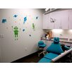 Pop Decors Roaming in The Space Wall Decal