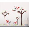 Pop Decors Peacock and Apple Trees Wall Decal