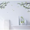 Pop Decors Elegant Tree Branch with Birds Decoration Wall Decal
