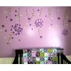 Pop Decors Flower Vines and Butterflies Wall Decal