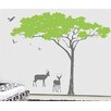 Pop Decors Umbrella Tree Wall Decal