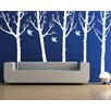 Pop Decors Super Big Trees with Flying Birds Wall Decal