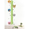 Pop Decors Cute Growth Chart and Photo Wall Decal