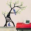 Pop Decors Parrot and Tree Wall Decal