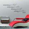 Pop Decors You Have Brains in Your Head Wall Decal