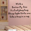 Pop Decors With a Butterfly Kiss Wall Decal