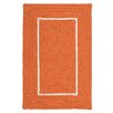 Colonial Mills Doodle Edge Orange Border in Border Indoor/Outdoor Area Rug