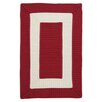 Colonial Mills Rope Walk Red Area Rugs
