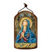 G Debrekht Inspirational Icon Maria Magdalena Wooden Ornament