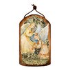 G Debrekht Inspirational Icon Angels Watching Over You Wooden Ornament