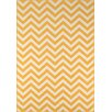 Momeni Baja Yellow/White Indoor/Outdoor Area Rug