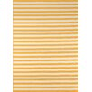 Momeni Baja Yellow/White Indoor/Outdoor Area Rug