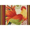 Homefires Spiced Rooster Multi Area Rug
