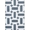 Trans-Ocean Rug Assisi Grey Circles Indoor/Outdoor Area Rug