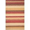 Trans-Ocean Rug Ravella Red Stripe Outdoor Rug