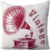 Surya Vibrant Vintage Cotton Throw Pillow