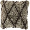 Surya Divine Diamond Wool Throw Pillow