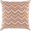 Surya Marvelous in Chevron Outdoor Throw Pillow