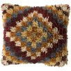 Surya Layers of Diamond Wool Throw Pillow