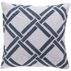 Surya Eye Catching Overlap Throw Pillow