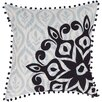 Surya Overlapping Cotton Throw Pillow