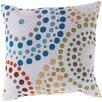 Surya Series of Circles Outdoor Throw Pillow