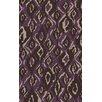 Surya Calaveras Brown/Purple Area Rug