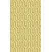 Surya Kabru Gold Geometric Rug
