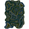Surya Hurricane Blue Indoor/Outdoor Area Rug