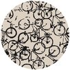 Surya Pandemonium Ivory & Black Indoor/Outdoor Area Rug