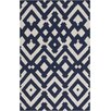 Surya Paddington Beige/Navy Geometric Area Rug