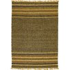 Surya Camel Chocolate/Tan Striped Area Rug
