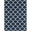 Surya Horizon Cobalt & Ivory Geometric Area Rug