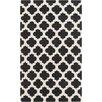 Surya Cosmopolitan Black & Beige Geometric Area Rug