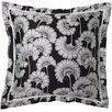 Surya Japanese Floral Florence Broadhurst Cotton Throw Pillow