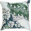 Surya Silk Throw Pillow