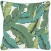 Surya Ulani Leaves  Throw Pillow